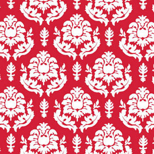a|s shimmer damask cardstock - cherry
