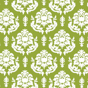 a|s shimmer damask cardstock - grass