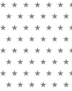a|s cardstock - stars silver