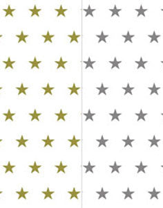 a|s cardstock - stars assorted pack