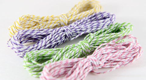 baker's cording - spring assortment