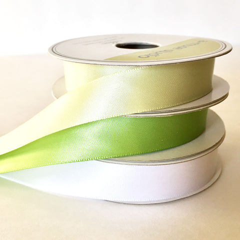 satin ribbon - holiday trio