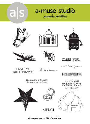 rubber stamp set