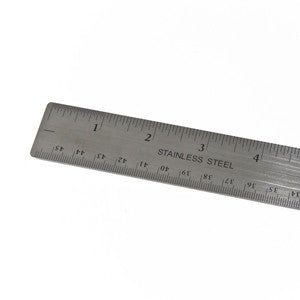 12-inch stainless ruler