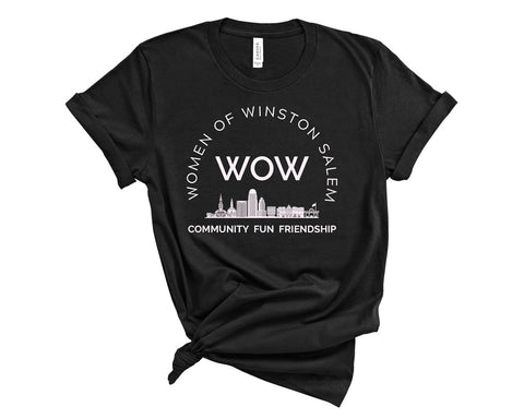 t-shirt - women of winston salem