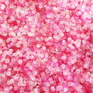 sequins 4mm - bubblegum