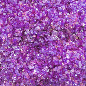 sequins 4mm - heather