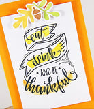 a|s die set - eat, drink, and be thankful