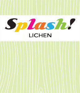 splash - lichen