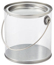mini paint can with lid - 3x3