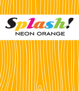 splash - neon orange