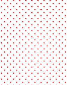 a|s cardstock - reverse polka dot apple