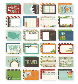 snap cards 4x6 - travel