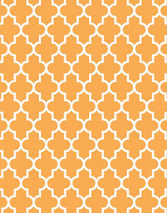 a|s cardstock - venetian patterned melon