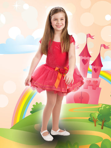 Charlotte Collection Tutu - Fuchsia/Orange