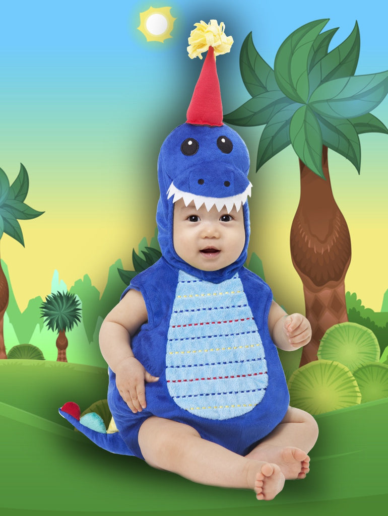 T-Party Dino Infant Romper