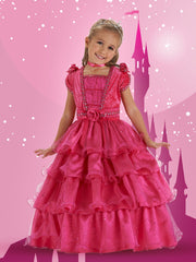 Fairytale Princess Dress - Fuchsia