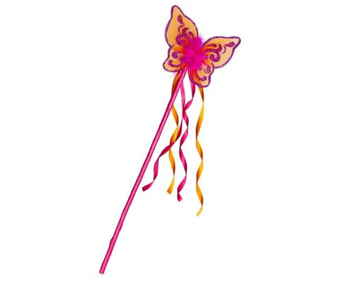 Flutter Wand Fuchsia and Orange