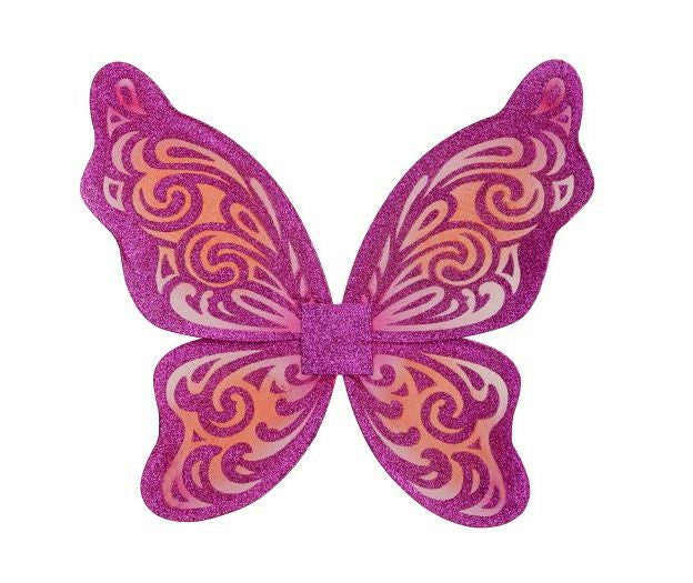 Flutter Wing Fuchsia and Orange