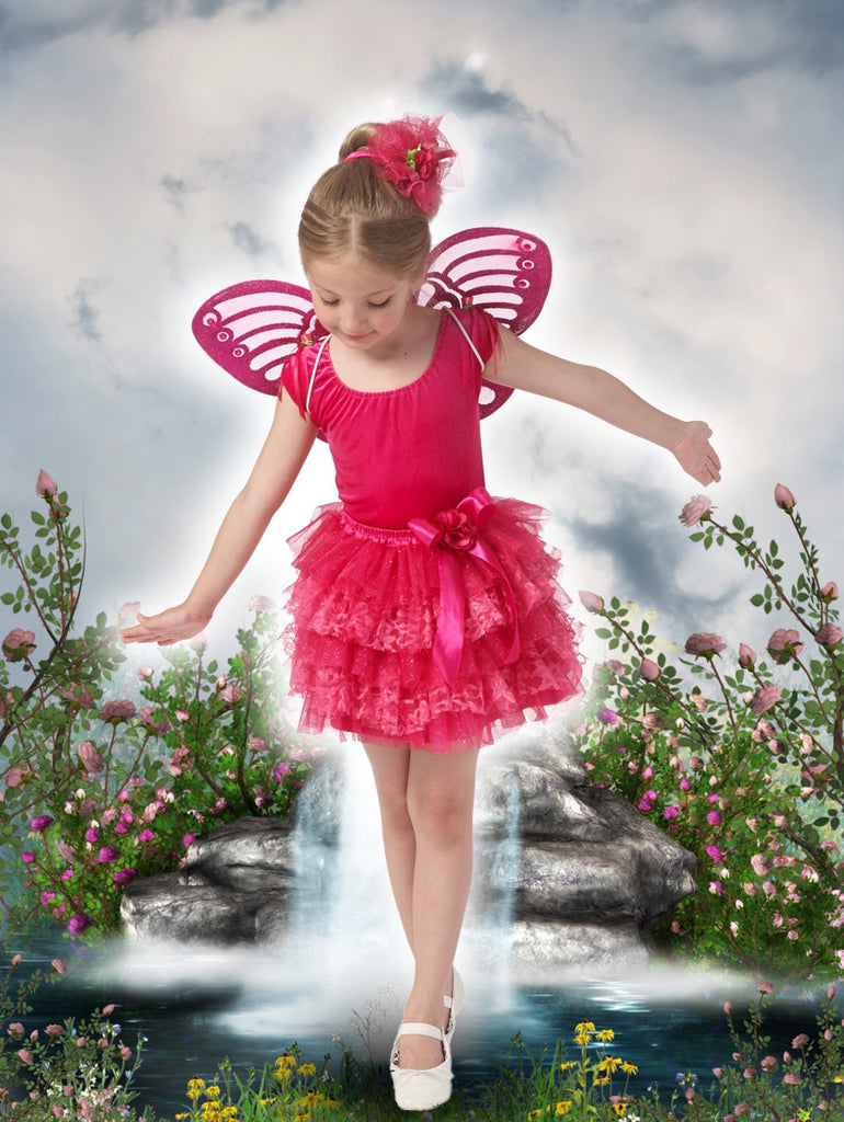 Lacey Collection Tutu - Fuchsia