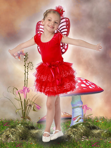 Lacey Collection Tutu - Red
