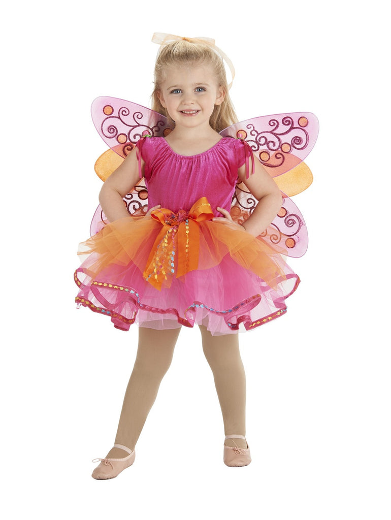 Priscilla Tutu Fuchsia/Orange