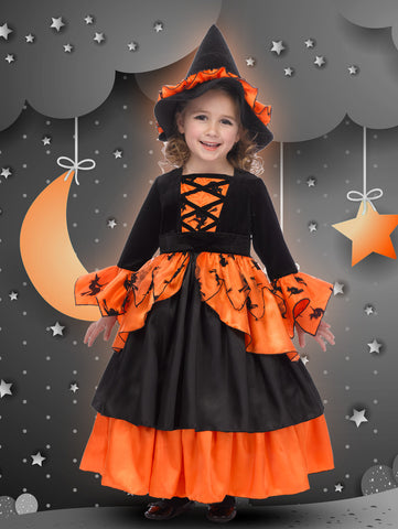 Pumpkin Witch Fairy Princess Dress