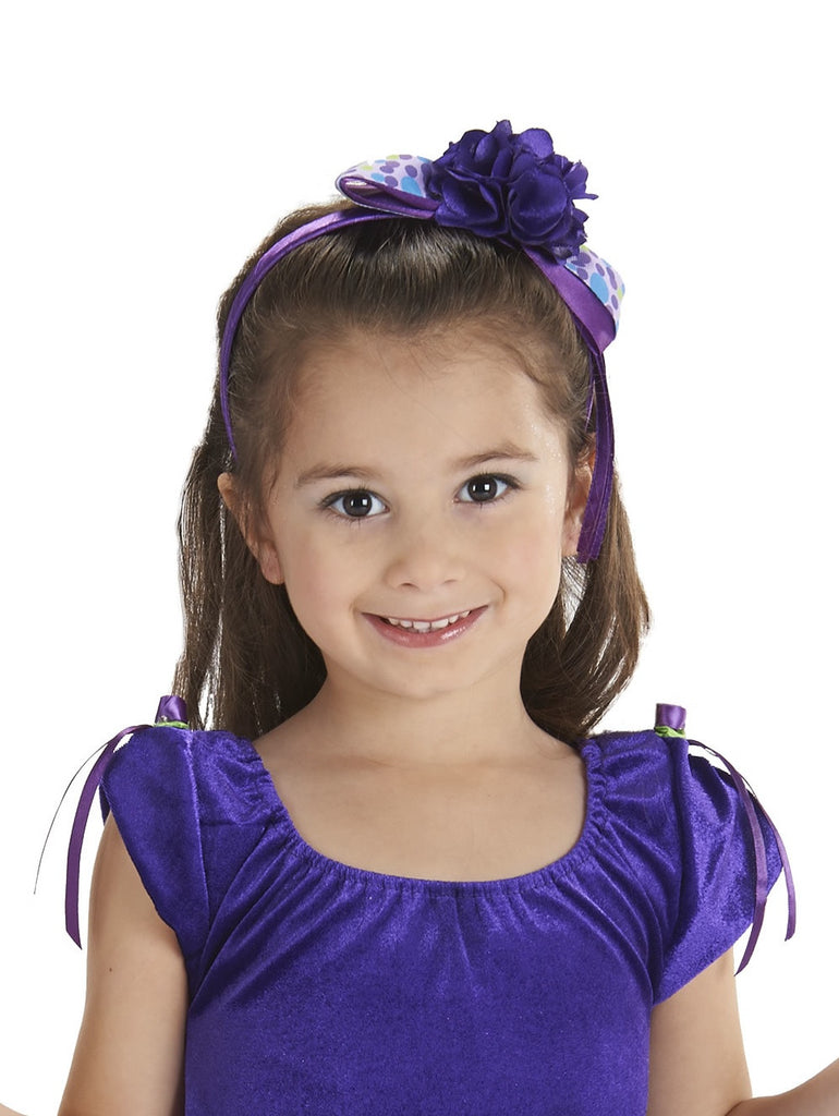 Rosie Headband Purple/Orchid