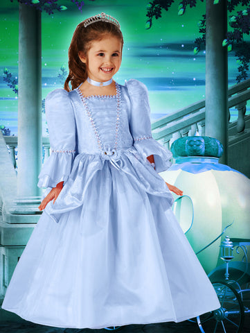 Sweetheart Princess Dress - Blue