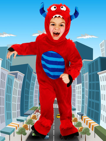 Red Monster Costume