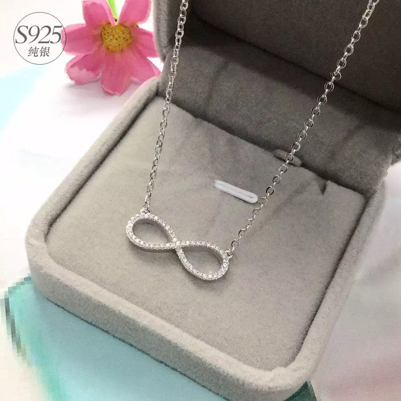 Eternal Love Infinity Pendant Necklace