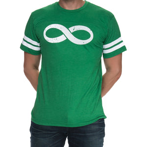 Men's Infinity Jersey Short Sleeved Graphic T-Shirt - Green