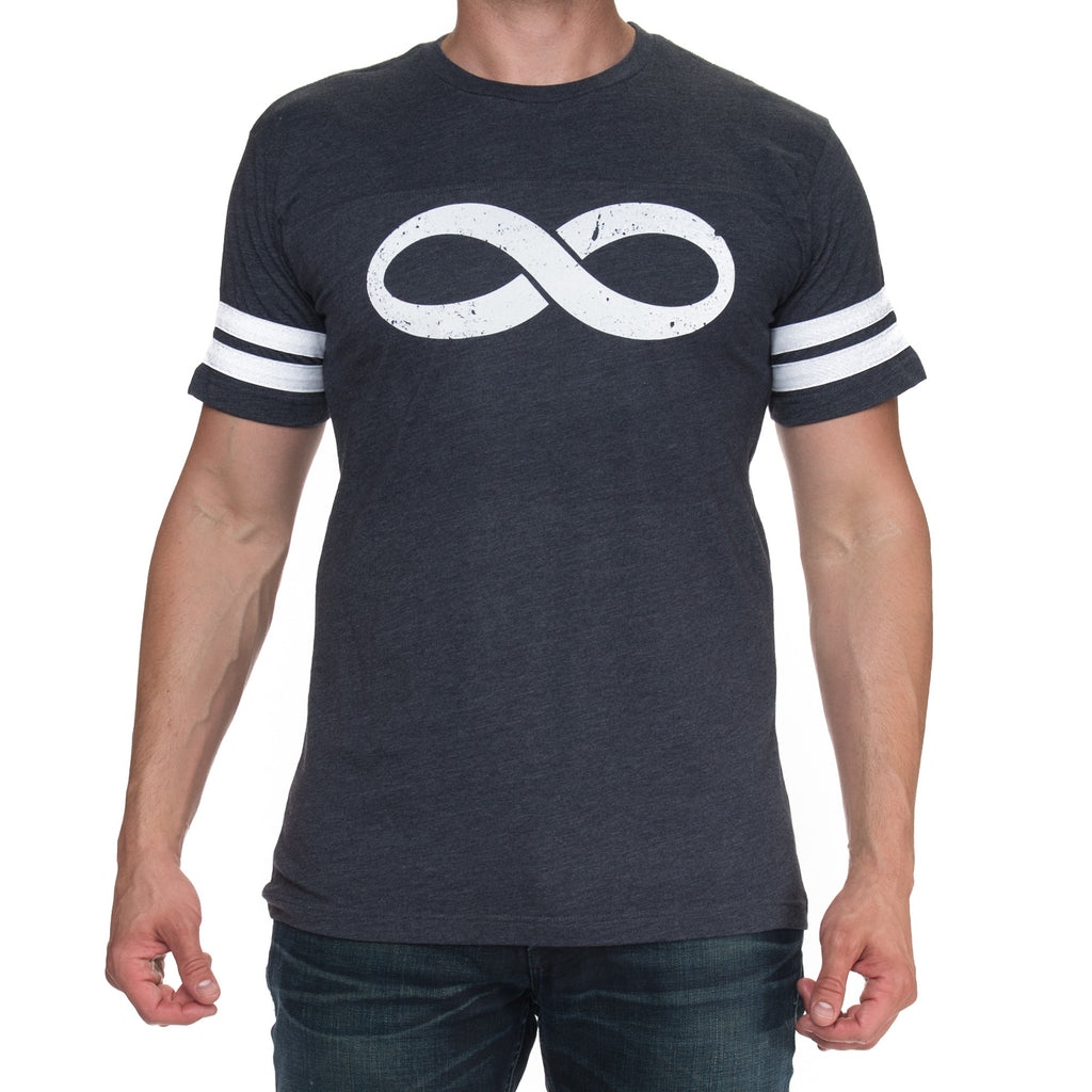 Men's Infinity Jersey Short Sleeved Graphic T-Shirt - Smoke