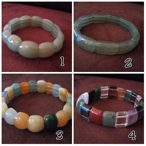 Jade Stretch Bracelets