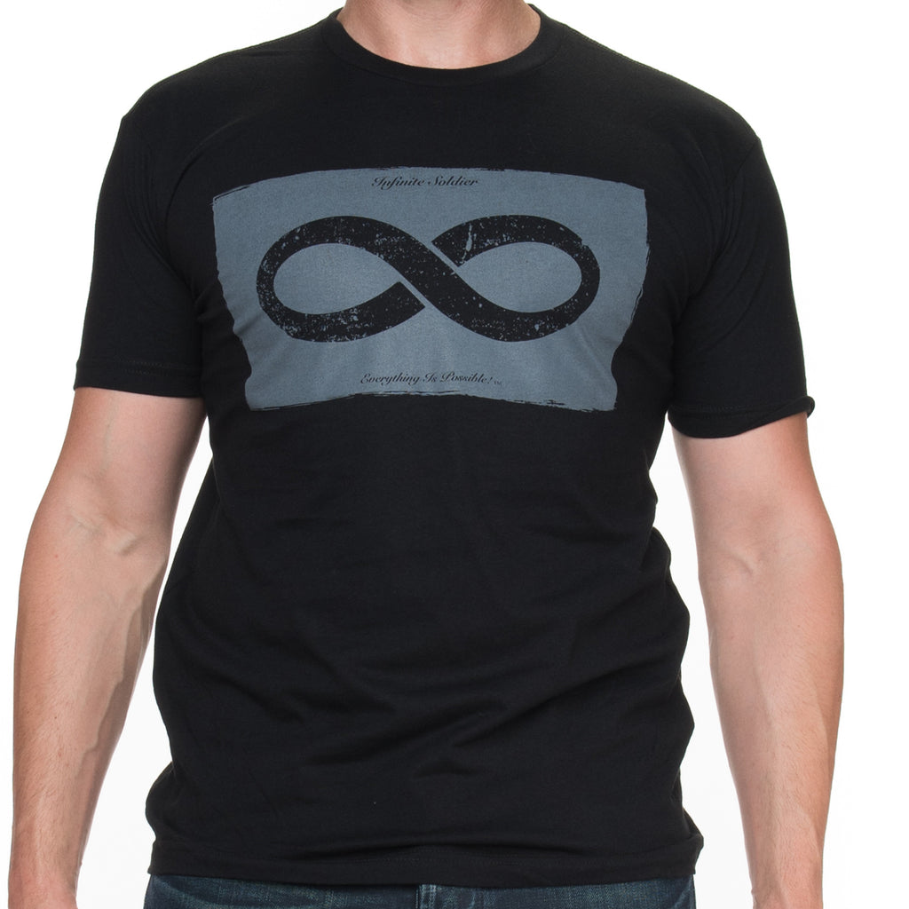 Men's Infinity in a Box Black Graphic T-Shirt