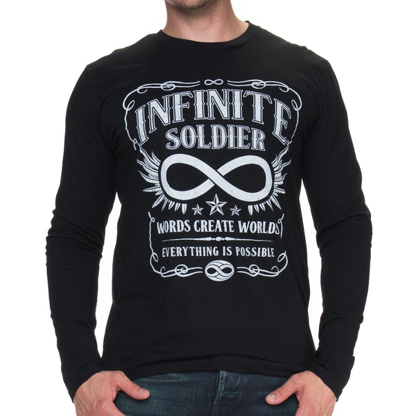 Men's Vintage Infinity Long Sleeve Tee