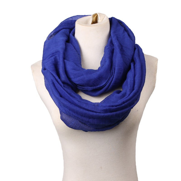 Infinity Scarf with Lightweight 100% Voile that is perfect for winter wear