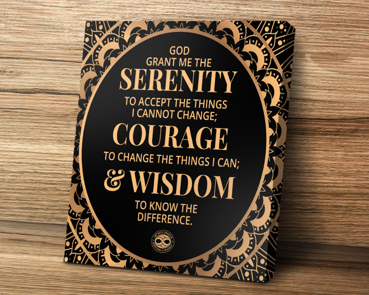 Serenity Prayer poster wall art