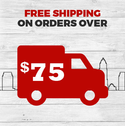 Get Free Shipping on all order of 75+