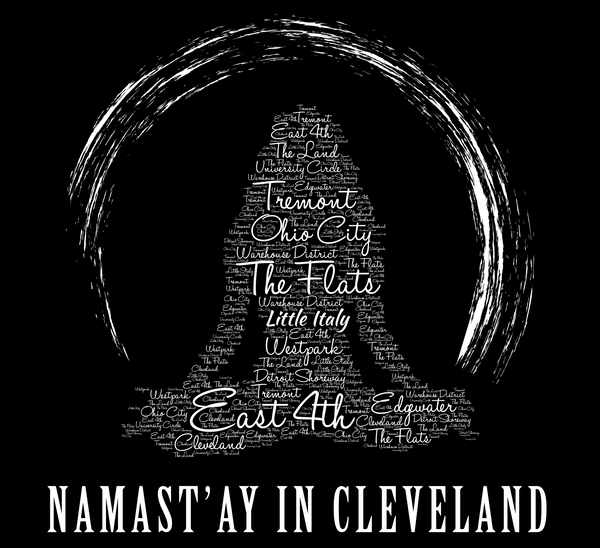 Namast'ay In Cleveland Ohio Yoga - Women's Tank - We Heart OHIO