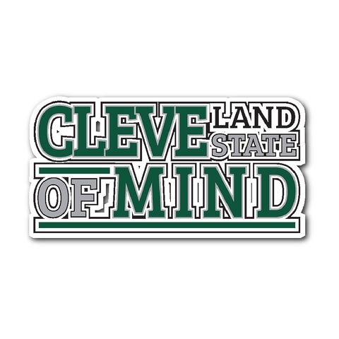Cleveland State of Mind Sticker - We Heart OHIO