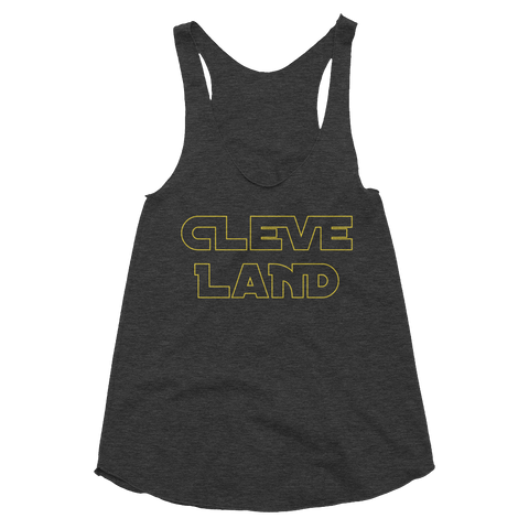 Cleveland Star Wars Inspired Women's Tank - We Heart OHIO