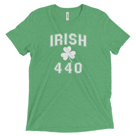Irish 440 Area Code St. Patrick's Day T-Shirt - We Heart OHIO