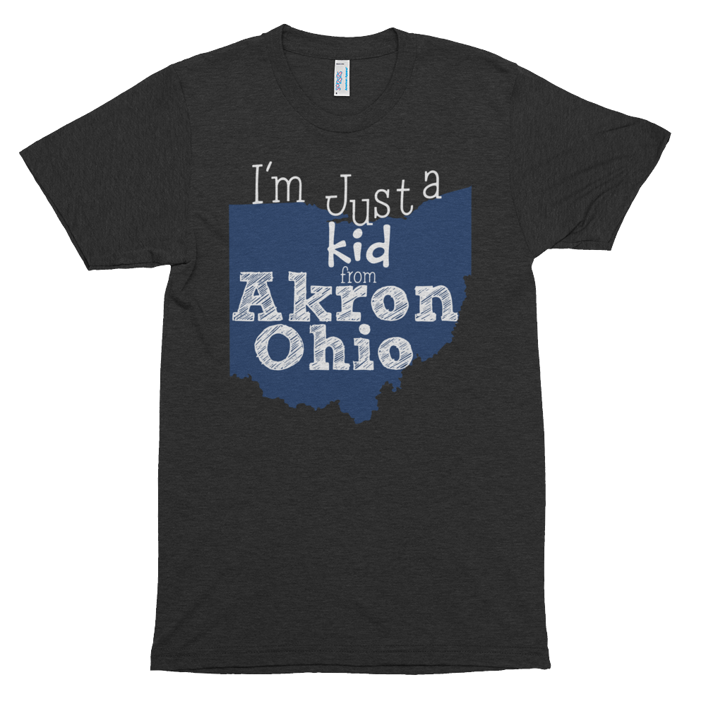I'm just a kid from Akron Ohio - We Heart OHIO