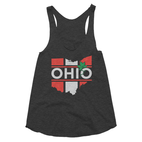 Ohio is the Buckeye State - Women's Tank - We Heart OHIO