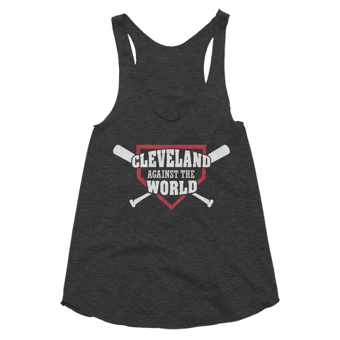 Cleveland Against the World - Women's Tank - We Heart OHIO