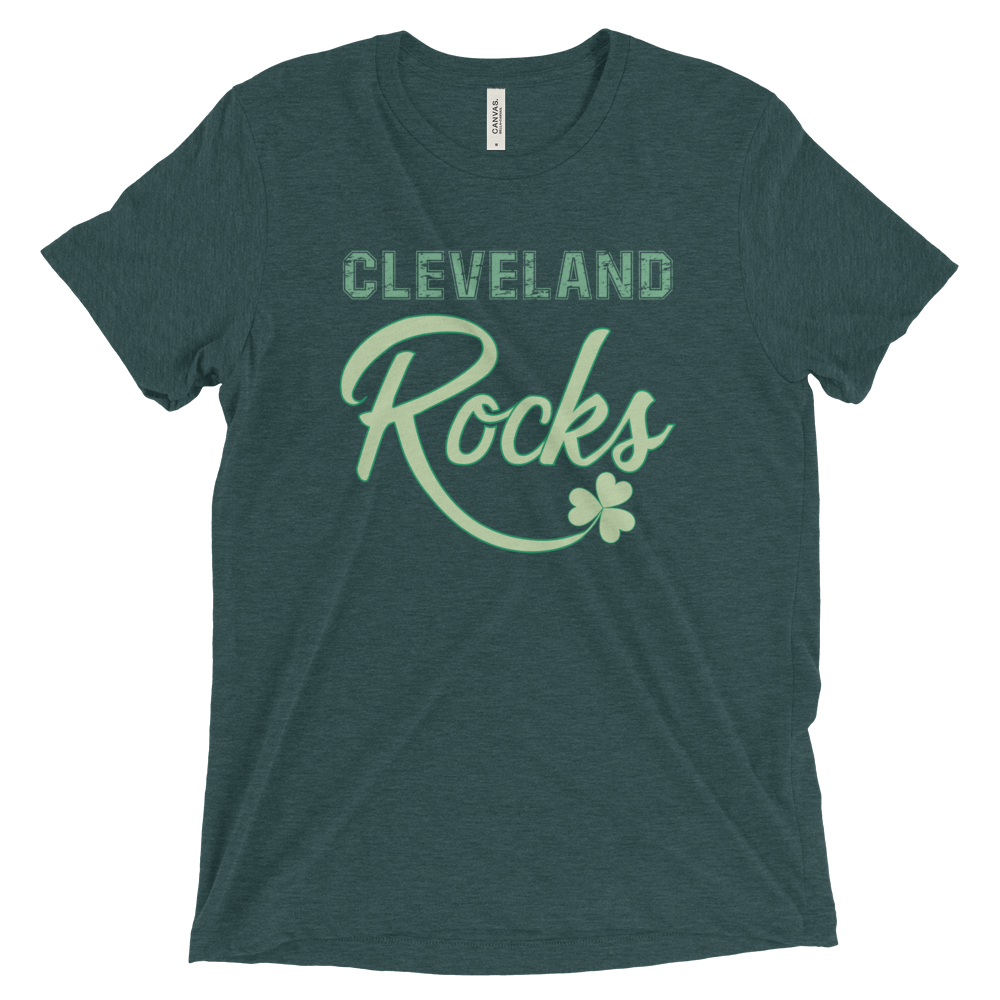 Cleveland Rocks St. Patrick's Day T-Shirt - We Heart OHIO