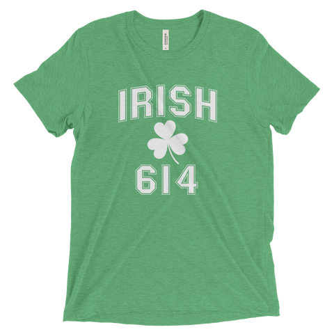 Irish 614 Area Code St. Patrick's Day T-Shirt - We Heart OHIO