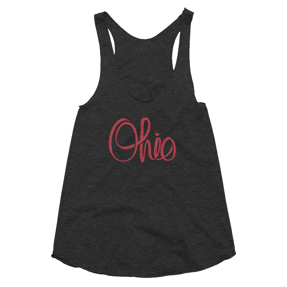 Script Ohio - Women's Tank - We Heart OHIO