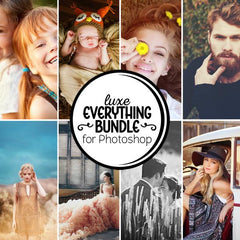 Luxe Everything Bundle - All Photoshop Actions